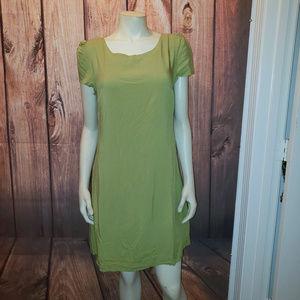 MODCLOTH Corset Back Shift Dress, Size Medium